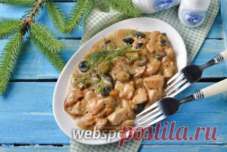 Жульен в мультиварке с курицей и грибами рецепт с фото, как приготовить на Webspoon.ru