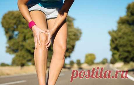 Боль в коленных суставах: простое целебное упражнение