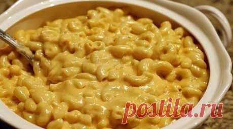 Сырная подлива для макарон. Вкуснотища необыкновенная! — Все для души