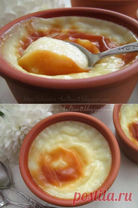 Постигая искусство кулинарии... : Сютлач - турецкий рисовый пудинг (Sütlaç).