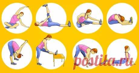 8 упражнений на растяжку, чтобы эффективно прокачать все тело