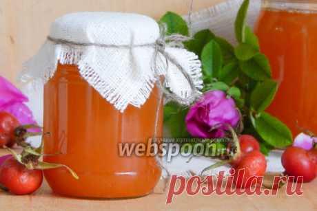 Сироп из шиповника рецепт с фото, как приготовить на Webspoon.ru