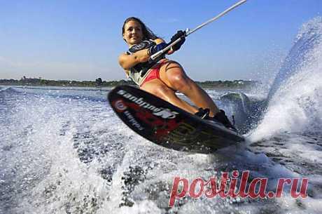 Едете на море? Возьмите с собой водные лыжи!