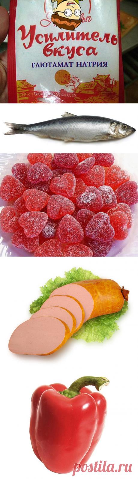 Вредные продукты и добавки — Делимся советами