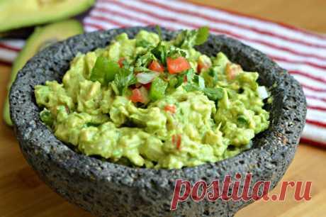 Лучший рецепт соуса гуакамоле