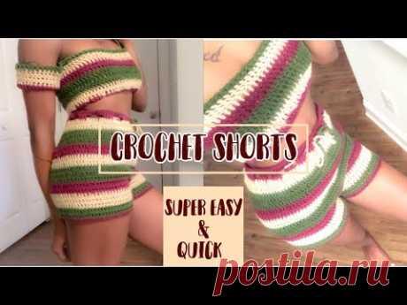 Easy crochet shorts