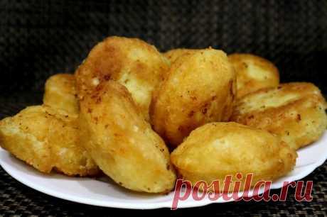 Пончики из творога на сковороде — Кулинарная книга - рецепты с фото
