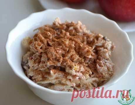 "Овсяная каша ""Яблочный пирог"" – кулинарный рецепт"
