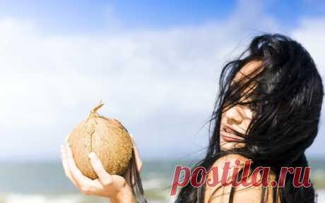Применение кокосового масла для волос: как правильно использовать и наносить на волосы