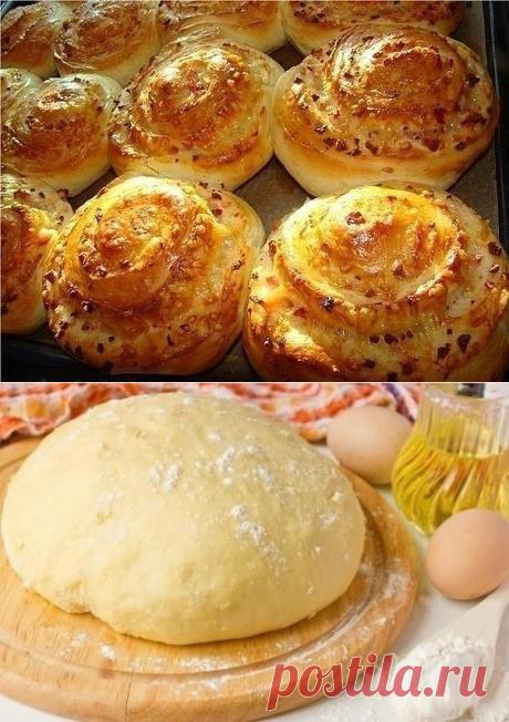 Быстрое прекрасное тесто для любой выпечки!