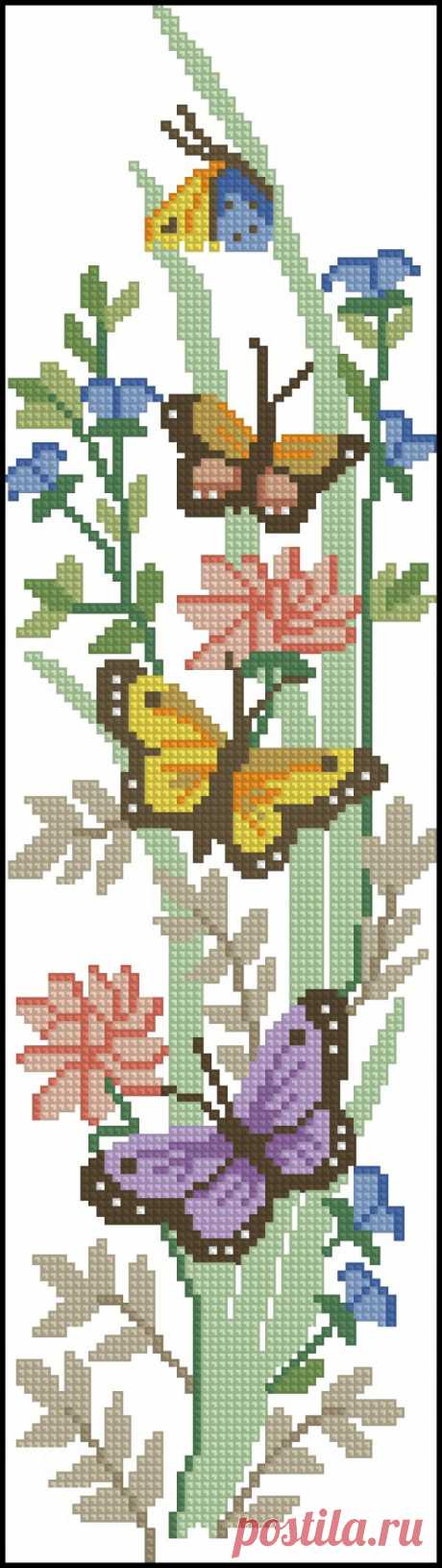 Babocki. Бабочки. вышиваем крестиком
