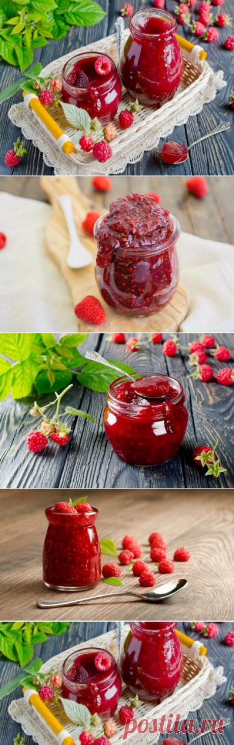 Варенье из малины на зиму – 9 простых рецептов