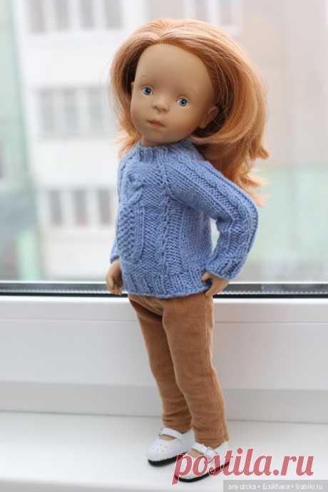 Первый наряд для Сонечки / Sylvia Natterer, Сильвия Наттерер. Коллекционно-игровые куклы / Бэйбики. Куклы фото. Одежда для кукол