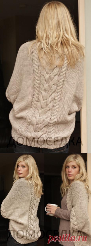 Красивый вязаный шраг от Melissa Schaschwary (Вязание спицами) – Журнал Вдохновение Рукодельницы