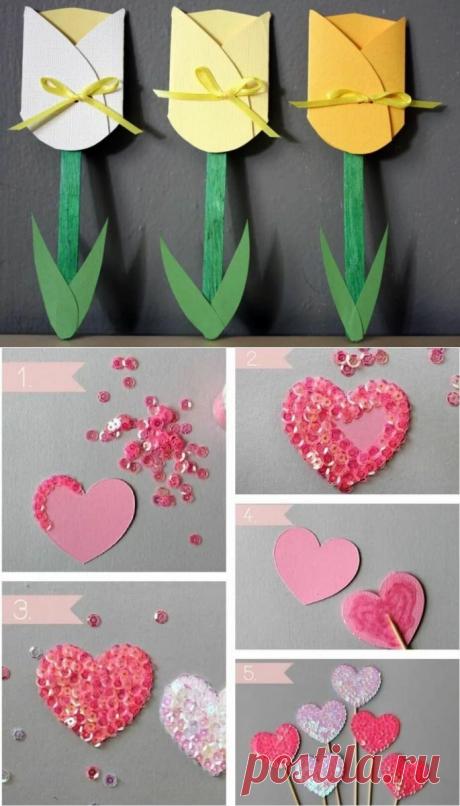 Подарки на День Матери. Несколько интересных идей для поделок своими руками. | Блог предпенсионерки | Яндекс Дзен