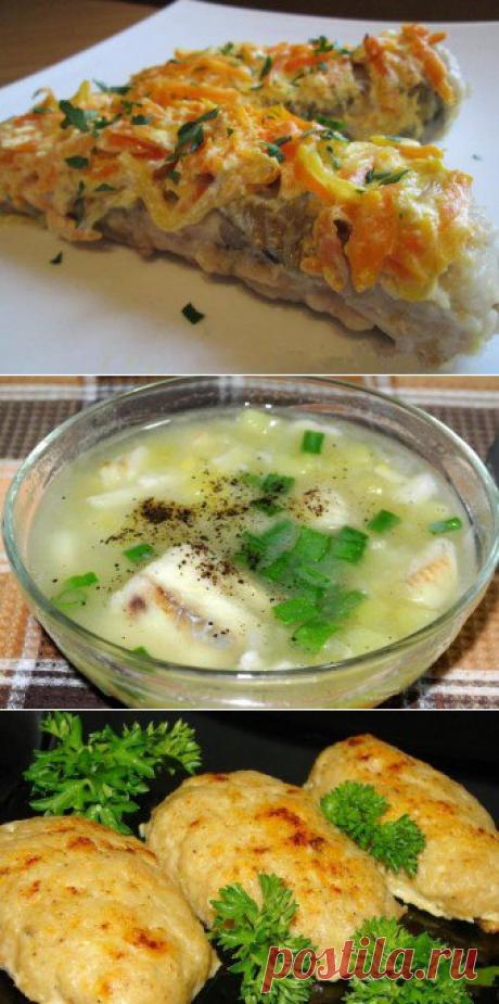 Рецепты из путассу: как приготовить рыбу в духовке и на плите