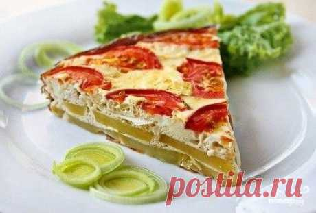 Картофельная тортилья – сытный, хоть и вегетарианский вариант для обеда или полдника