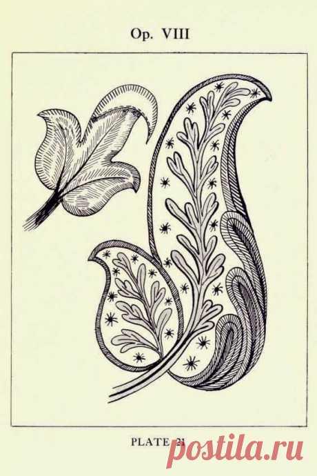 Вершины вышивального искусства - якобинская вышивка (крюил)