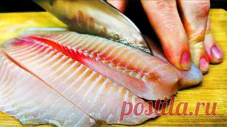 7 лучших рецептов из рыбы, которые можно готовить хоть каждый день!   Ольга Лунгу   Яндекс Дзен