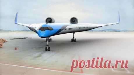 Как выглядит пассажирский самолёт будущего?