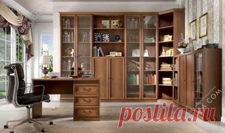 Библиотека Александрия - купить по цене от 2 600 руб. в интернет-магазине мебельной компании Шатура