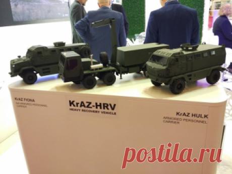 ПАО «АвтоКрАЗ» подвело итоги участия в выставке «Eurosatory 2018»