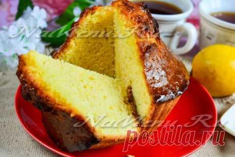Кекс лимонный рецепт с фото пошагово