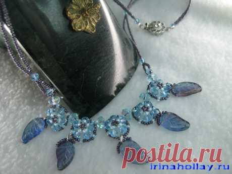 Irina Gollay's studio: jewelry and products from beads