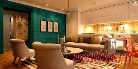 Квартира в стиле Авангард. Интересные цветовые цвета. Компания Бабич выполнит ремонт и дизайн квартир