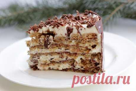 Вкуснейший ореховый торт – рецепт для искушенных сластен и сладкоежек!