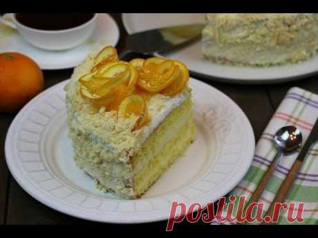 Апельсиновый торт очень простой рецепт ✧ Orange Cake
