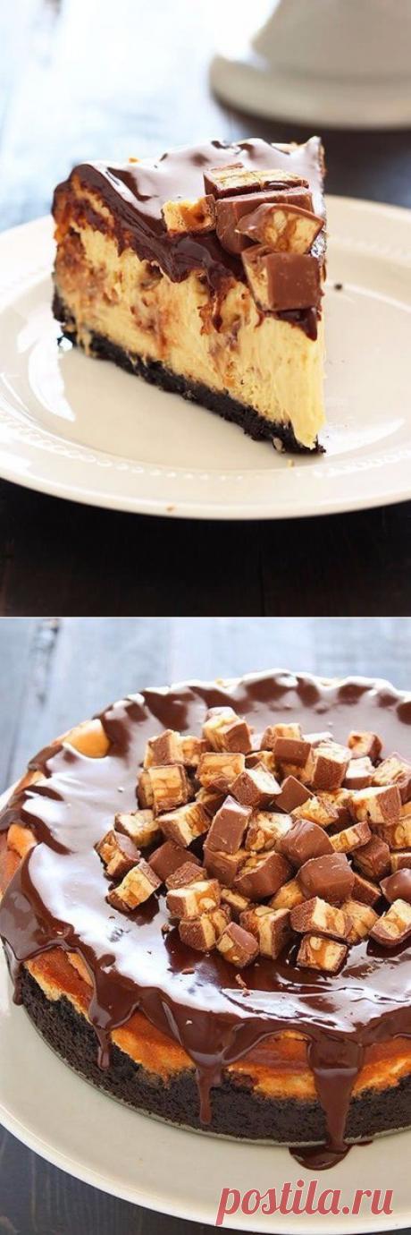 """""""СНИКЕРС&quot cheesecake;"""