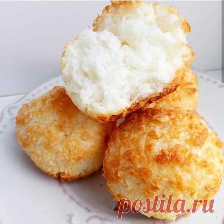 Кокосовое печенье: идеальный десерт! Ингредиенты: