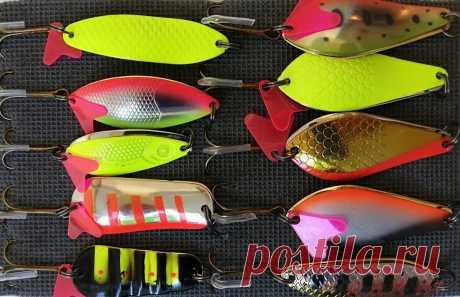 Особенности колеблющихся блесен, которые меняют тактику рыбалки