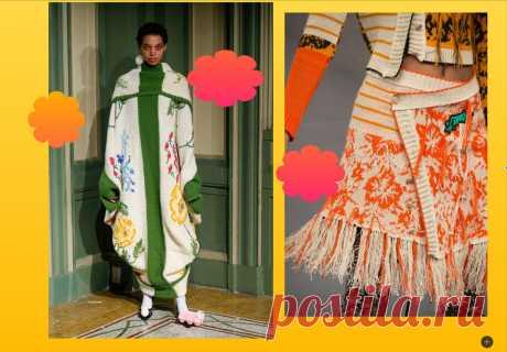 Самые любимые схемы для вязания и вышивки- люксовым брендам на зависть! | СТИЛЬ МОДА ТРЕНДЫ | Яндекс Дзен.Идеи.