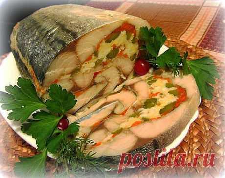 Roll from a mackerel.
