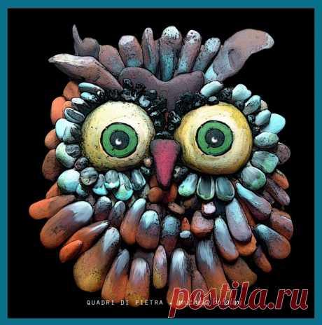 Живая галька.)) Хенд-мейд Michela Bufalini - Все интересное в искусстве и не только.