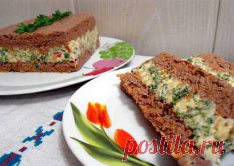 Потрясающе вкусный паштет из печени и сыра | NashaKuhnia.Ru