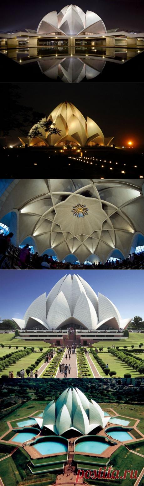 Храм Лотоса: прекрасный цветок Индии — Путешествия