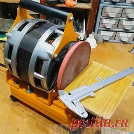 Дисковый шлифовальный станок своими руками (14 фото+видео) Самый простой, самодельный дисковый шлифовальный станок: подробные фото и описание конструкции станка