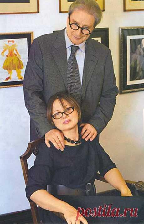 Вениамин Смехов и Галина Аксенова