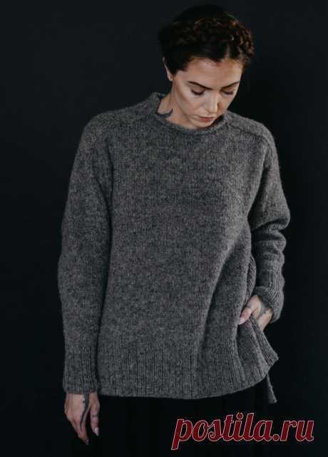 Модный свитер Harlow - Вяжи.ру