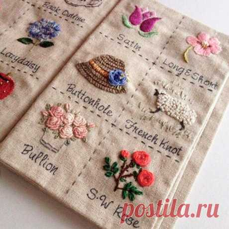 Интересная идея - книги с вышивкой (образцами) | Рукоделие от OvechkaMaster.ru | Яндекс Дзен