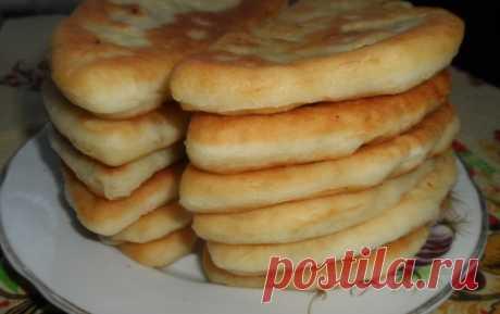 Тонкие пирожки с картофелем