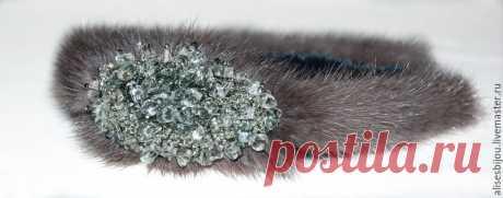 Экстравагантная осень 2016. Делаем изящный ободок из меха норки - Ярмарка Мастеров - ручная работа, handmade