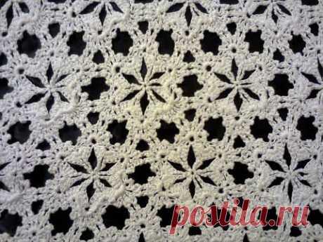МК  вязание крючком (мотив цветочек) ч.1. MK Crochet (flower motif) Part 1.