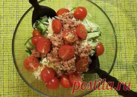 (11) Салат с тунцом - пошаговый рецепт с фото. Автор рецепта Olise . - Cookpad