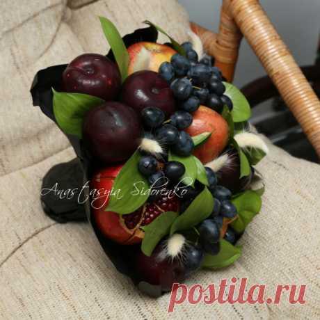 Gallery.ru / Фото #98 - Букеты из фруктов - AnastasiyaSidorenko