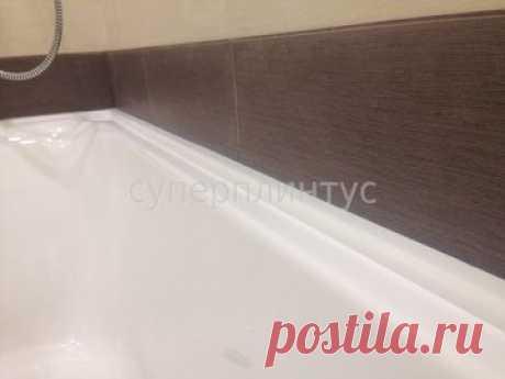 Как красиво скрыть зазоры между плиткой и ванной?