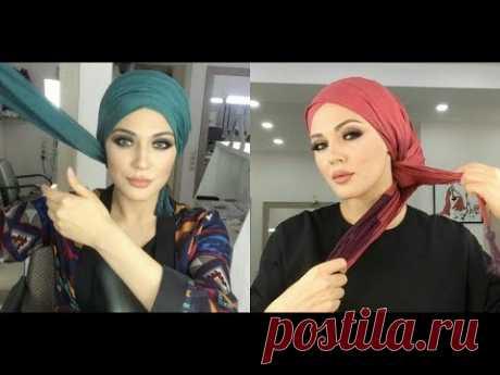 طرق سهلة لعمل حجاب توربان💕 لفات حجاب توربان💕 سهلة و متنوعة✔️ و موديلات كثيرة و حلوة✔️ لا يفوتكم 💕